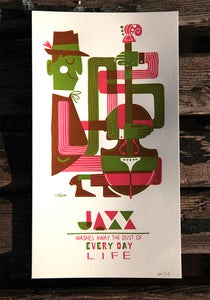 Image of Jazz bass print