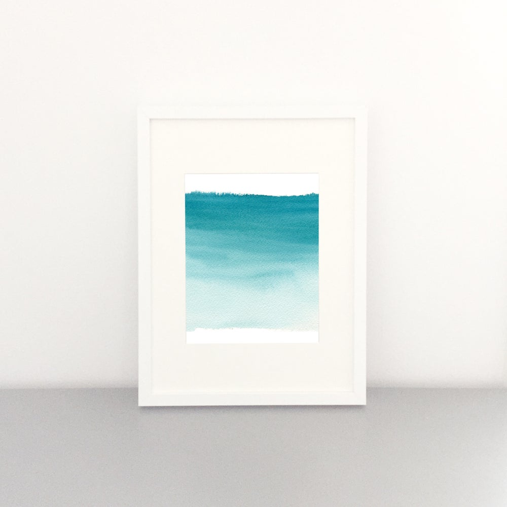Image of Waves Art Print