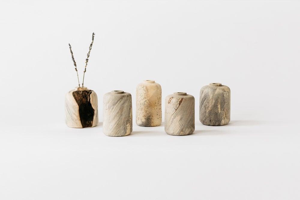 Image of Buckeye Burl Bud Vase