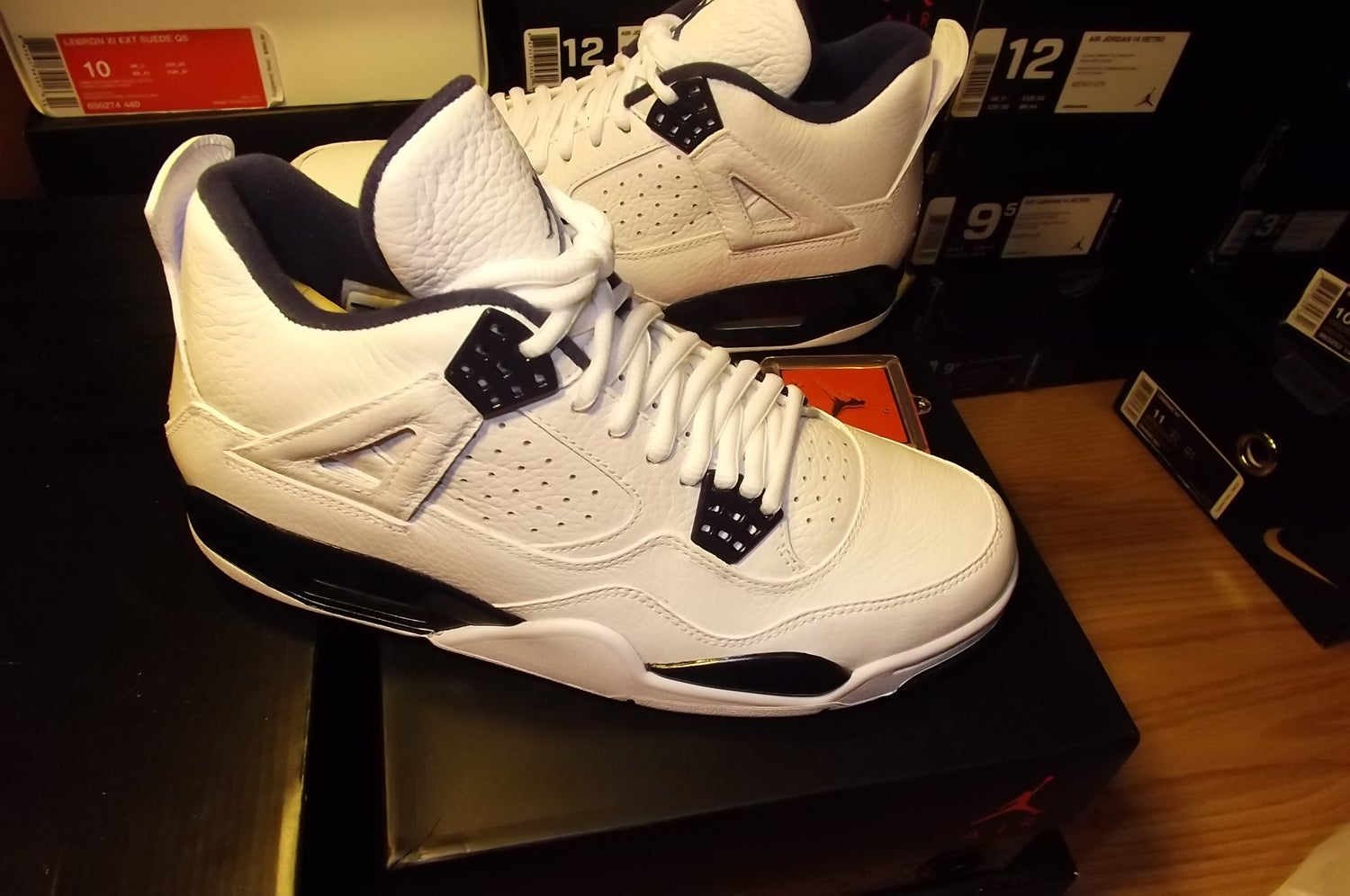"Image of Air Jordan 4 retro ls ""legend blue"""