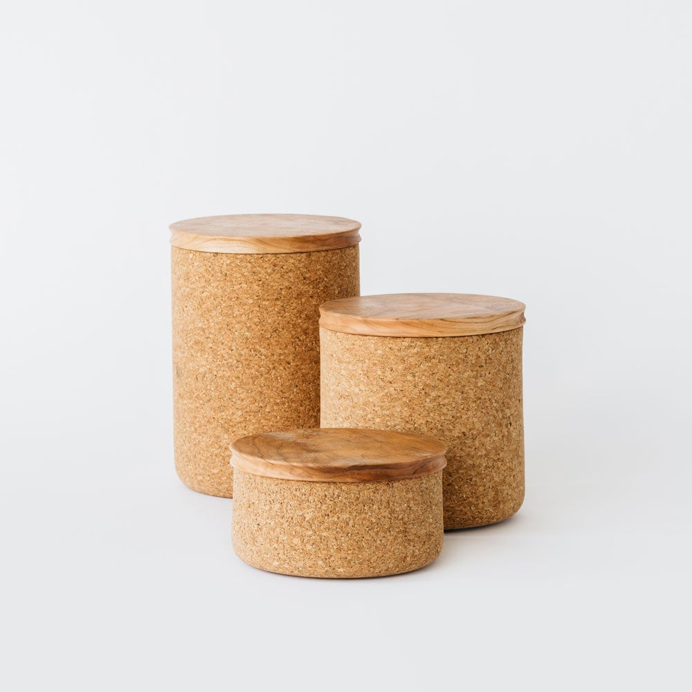 Image of Cork + Cherry Canisters