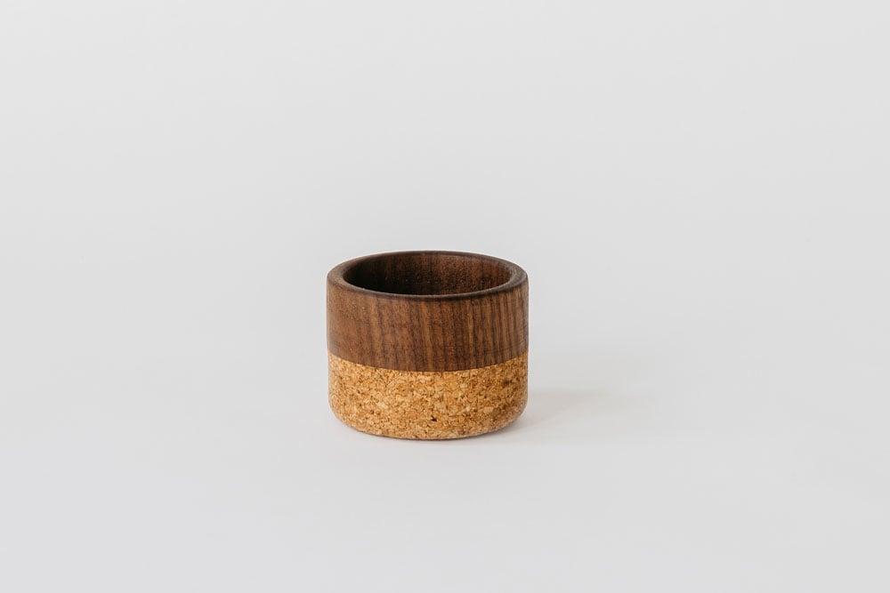 Image of Walnut + Cork Bowl