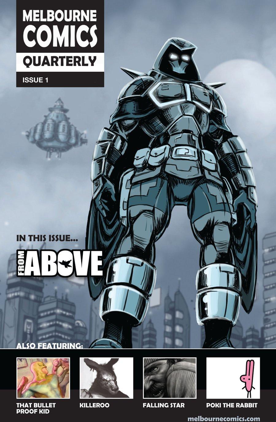 Image of Melbourne Comics Quarterly #1