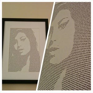 Image of Amy Winehouse / Rehab Print