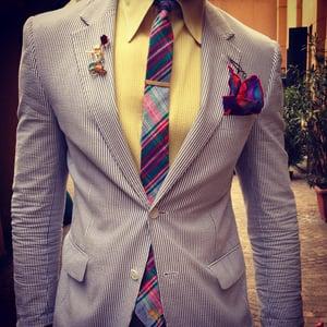 Image of Plaid Chuck Tie
