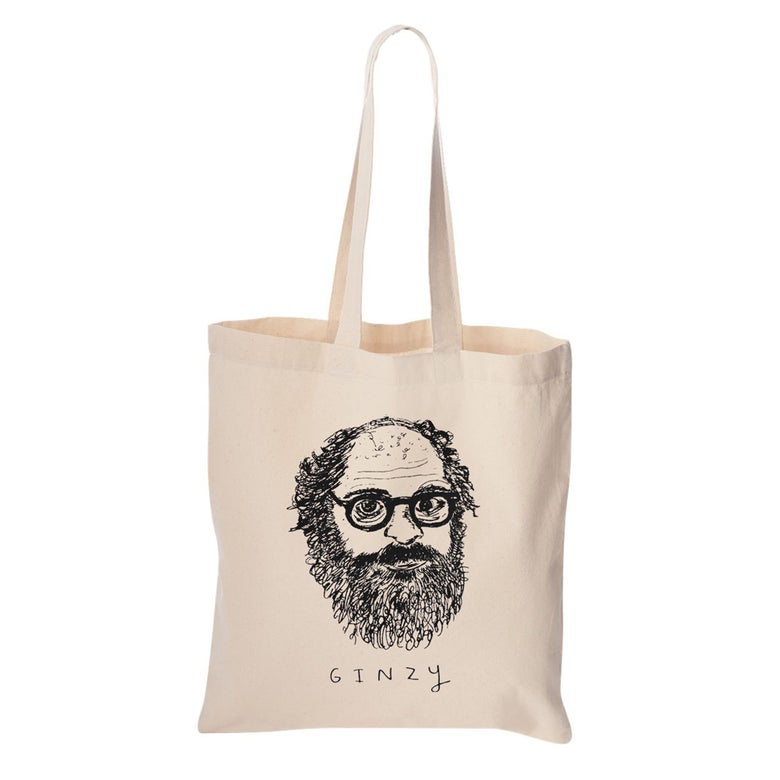 Image of Allen Ginsberg Tote Bag