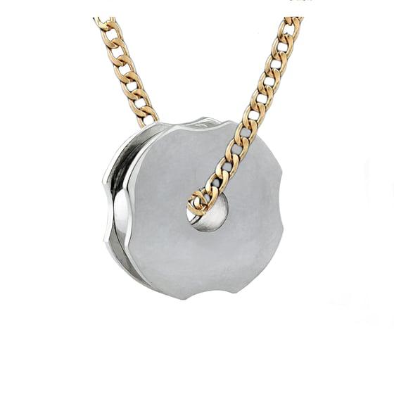Image of Solid Gold Pendant Grinder