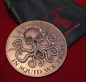 Image of The Squidder Coin *SIGNED* — BACKROOM FIND!