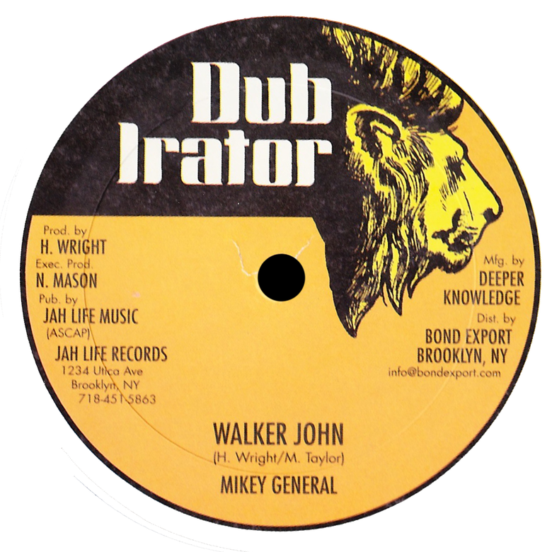 "Image of Mikey General - Walker John / Singer With the Flavor 12"" (Dub Irator)"