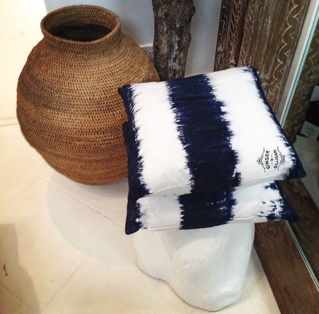 Image of STRIPY CUSHION COVER