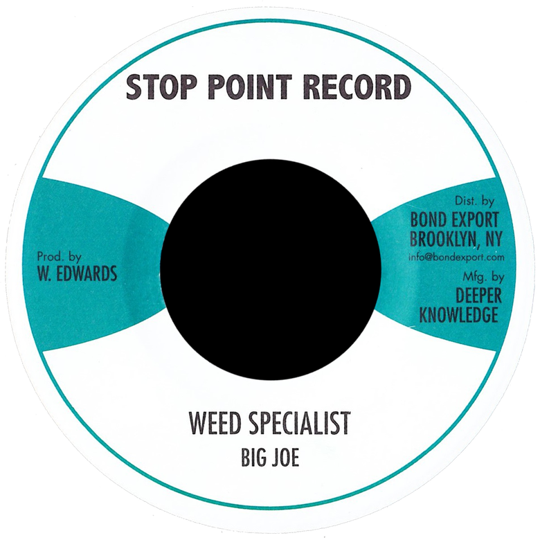 "Image of Big Joe - Weed Specialist 7"" (Stop Point)"