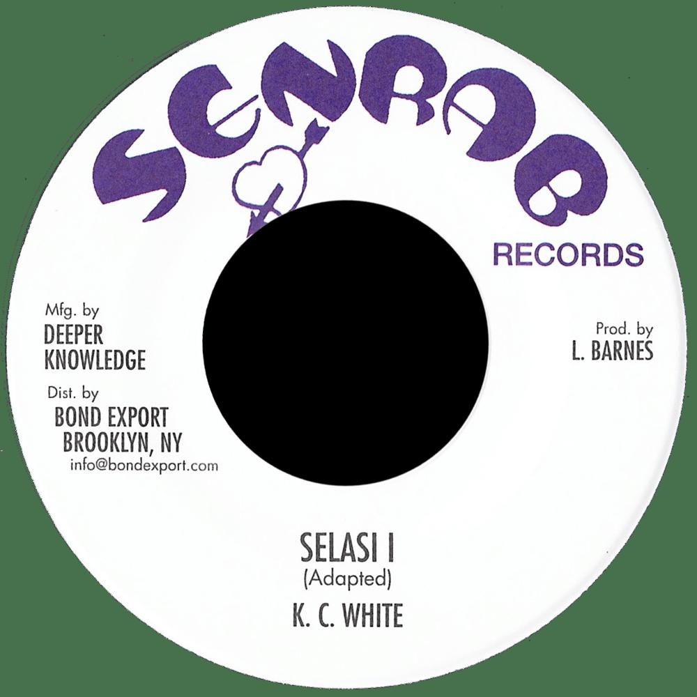 """Image of KC White - Selasi I 7"""" (Senrab)"""