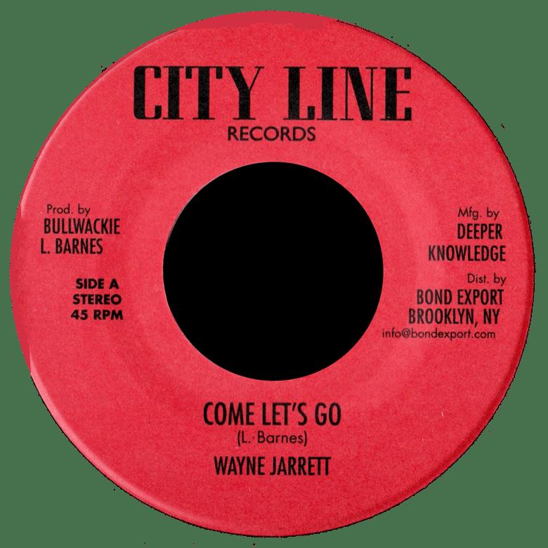 """Image of Wayne Jarrett / Jerry Johnson - Come Let's Go / Zion Rock 7"""" (City Line)"""