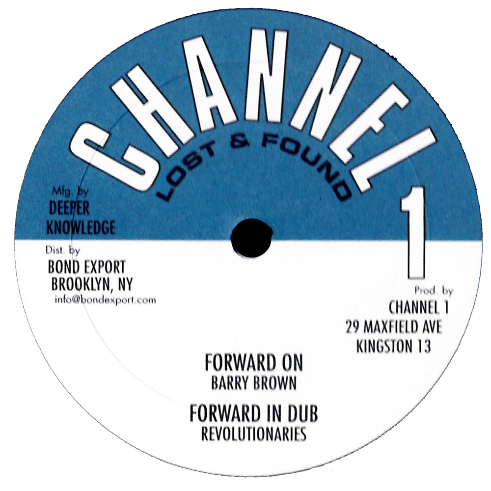 "Image of Barry Brown / Clarence Parks / Revolutionaries - 4 track EP 10"" (Channel 1)"