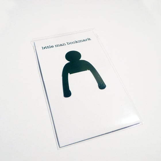 Image of Little Man Bookmark