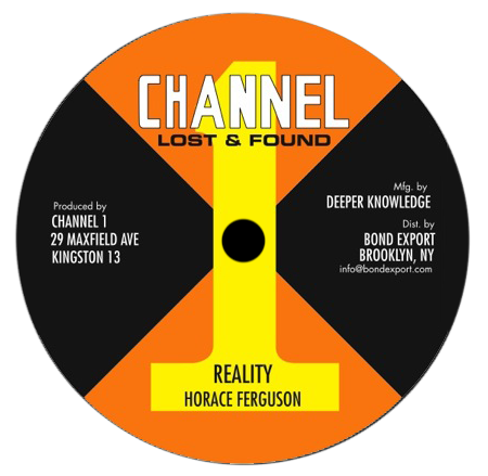 "Image of Horace Ferguson - Reality / Youthman 10"" (Channel 1)"