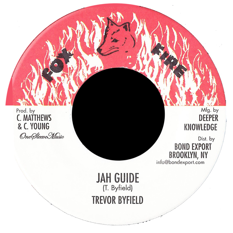 "Image of Trevor Byfield - Jah Guide 7"" (Fox Fire)"