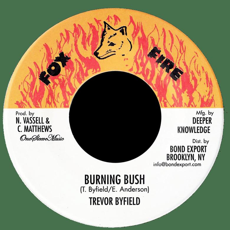 "Image of Trevor Byfield - Burning Bush 7"" (Fox Fire)"