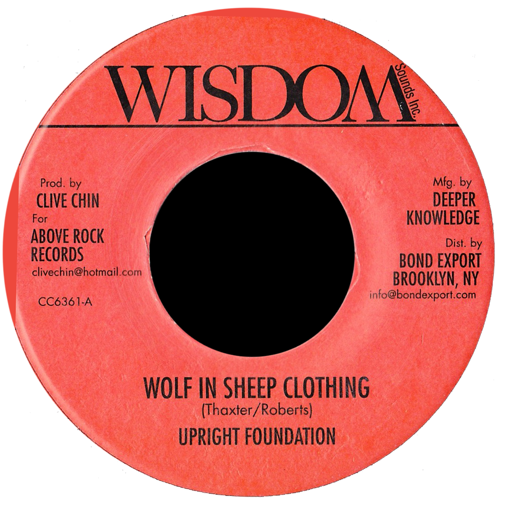 "Image of Upright Foundation - Wolf in Sheep Clothing 7"" (Wisdom)"