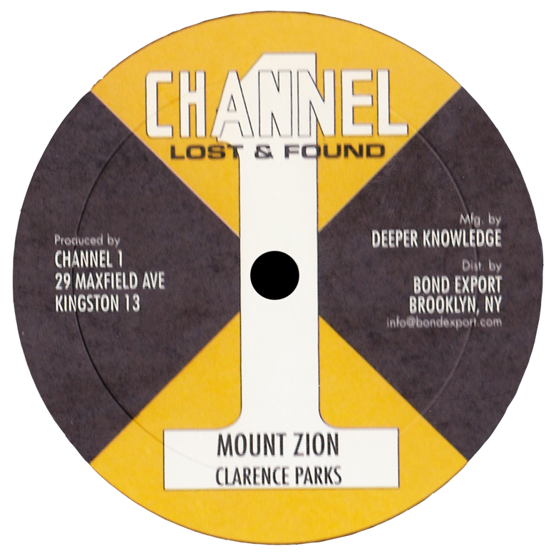 "Image of Clarence Parks - Mt. Zion / Been So Long 10"" (Channel 1)"