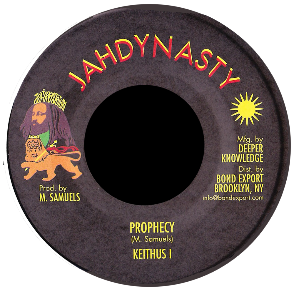 """Image of Keithus I - Prophecy 7"""" (Jah Dynasty)"""