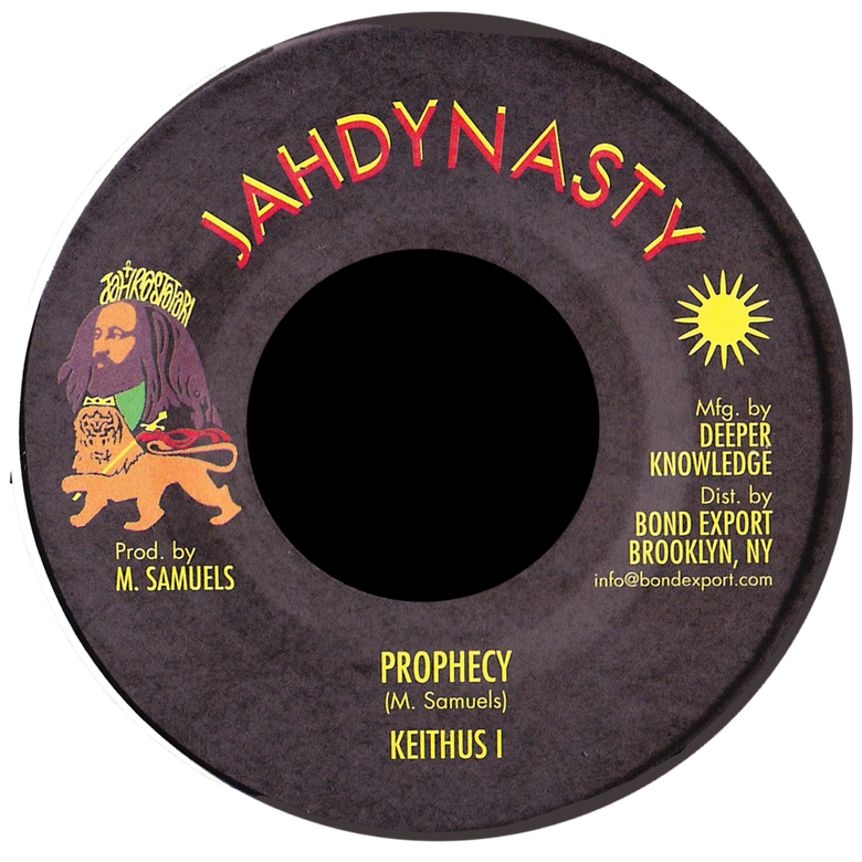 "Image of Keithus I - Prophecy 7"" (Jah Dynasty)"