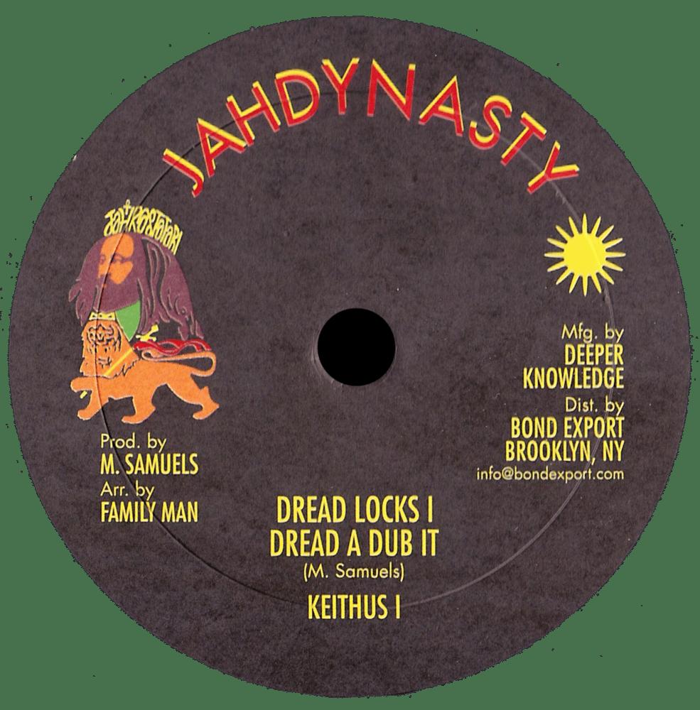 "Image of Keithus I - Dreadlocks I EP 10"" (Jah Dynasty)"