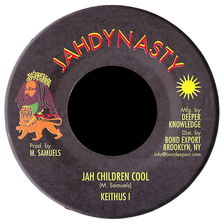 "Image of Keithus I - Jah Children Cool 7"" (Jah Dynasty)"