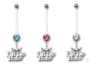 Image of PTFE Pregnancy / Maternity Belly Bars - Little Baby