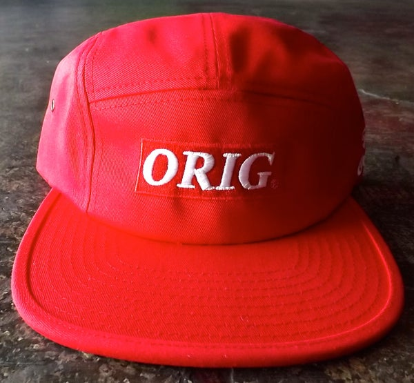 Image of ORIG BOX-LOGO 5 PANEL (RED)
