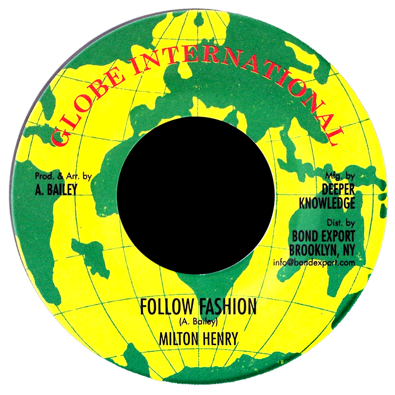 "Image of Milton Henry - Follow Fashion 7"" (Globe International)"