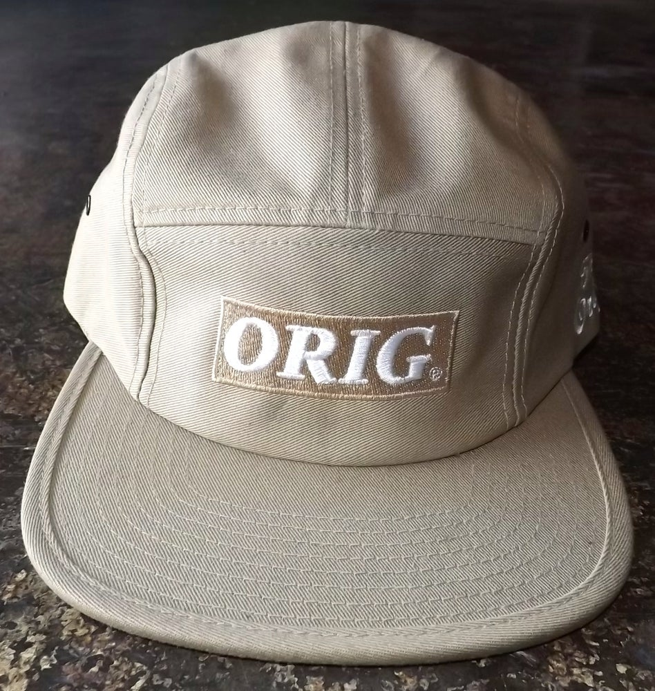 Image of ORIG BOX-LOGO 5 PANEL (KHAKI)