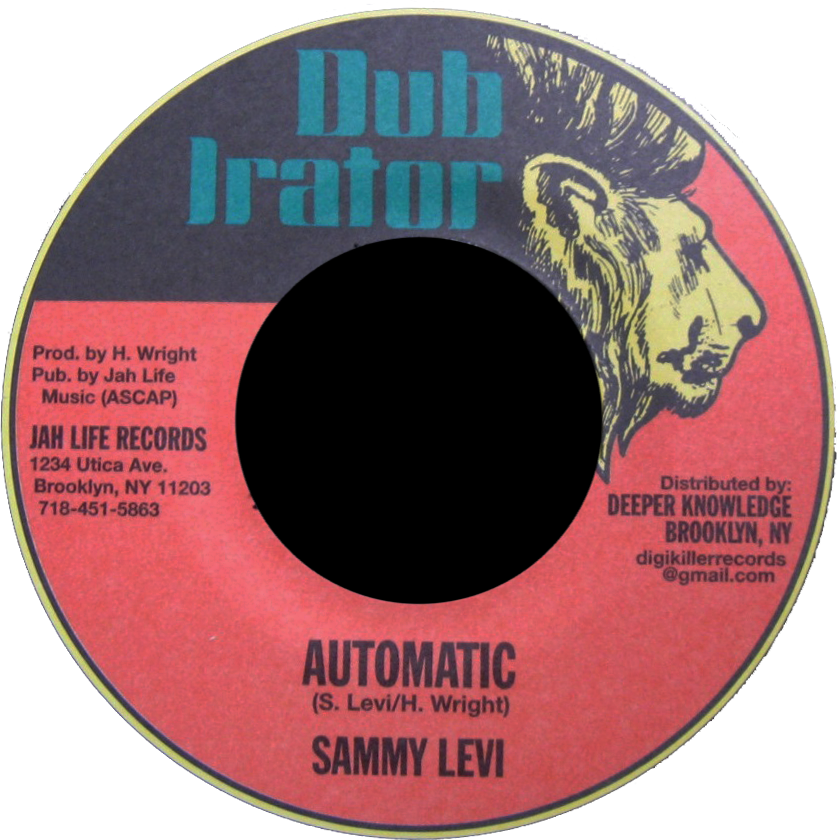 "Image of Sammy Levi - Automatic 7"" (Dub Irator)"