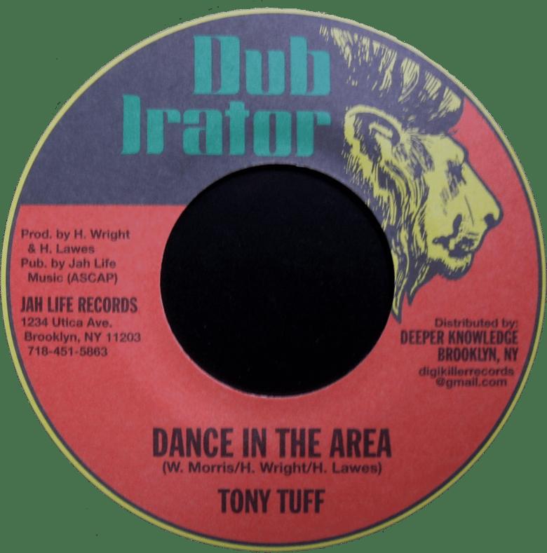 "Image of Tony Tuff - Dance in the Area 7"" (Dub Irator)"