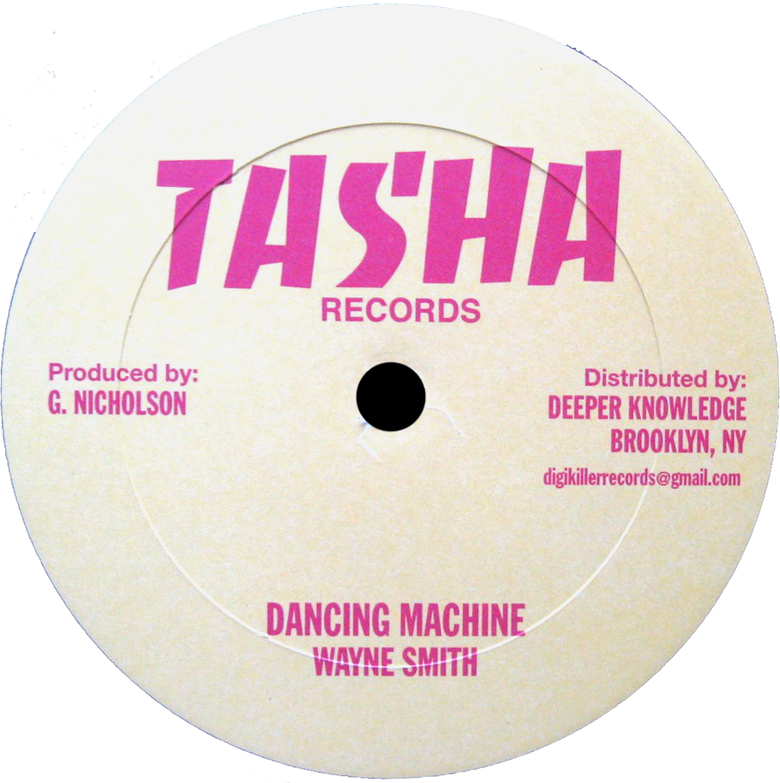 "Image of Wayne Smith / Gilly Buchanan - Dancing Machine / Me No Mix 12"" (Tasha)"