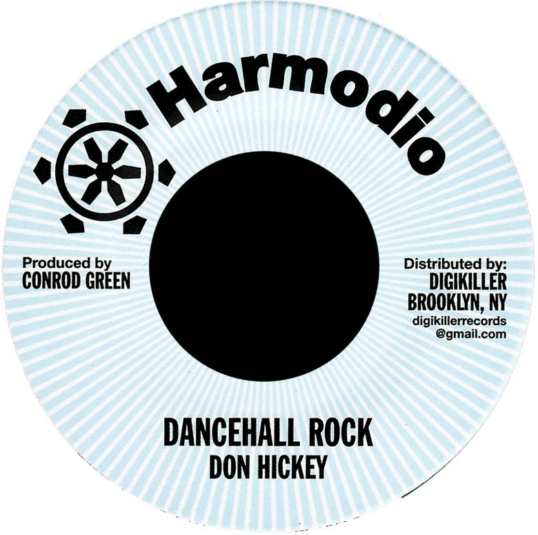 "Image of Don Hickey - Dancehall Rock 7"" (Harmodio)"