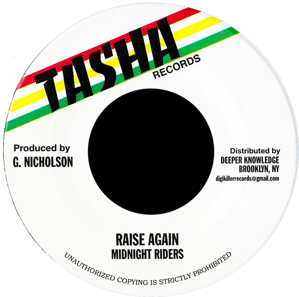 "Image of Midnight Riders - Raise Again 7"" (Tasha)"