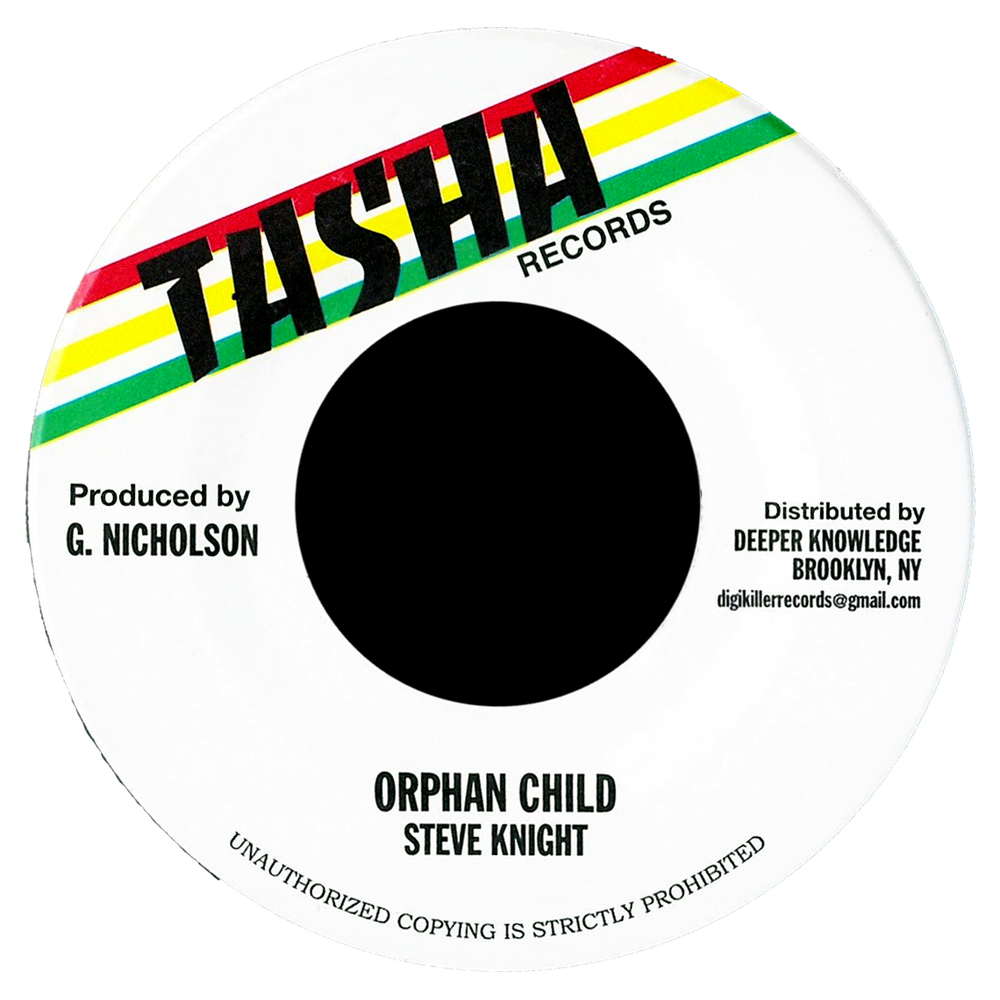 "Image of Steve Knight - Orphan Child 7"" (Tasha)"