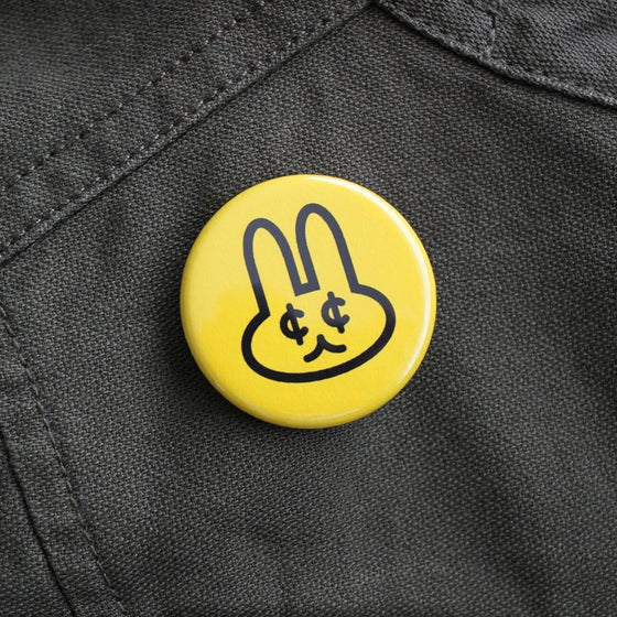 Image of Frugal Bunny Pin