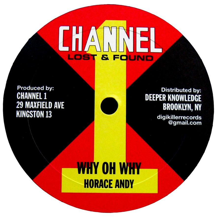 "Image of Horace Andy - Why Oh Why / Satisfy Me 10"" (Channel 1)"