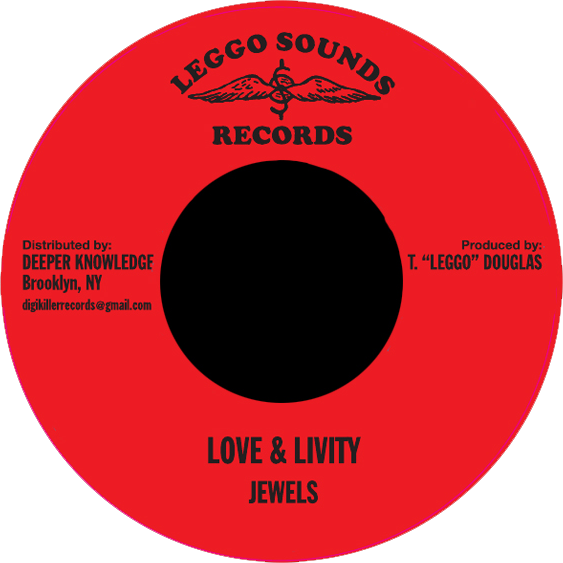 "Image of Jewels - Love & Livity 7"" (Leggo Sounds)"