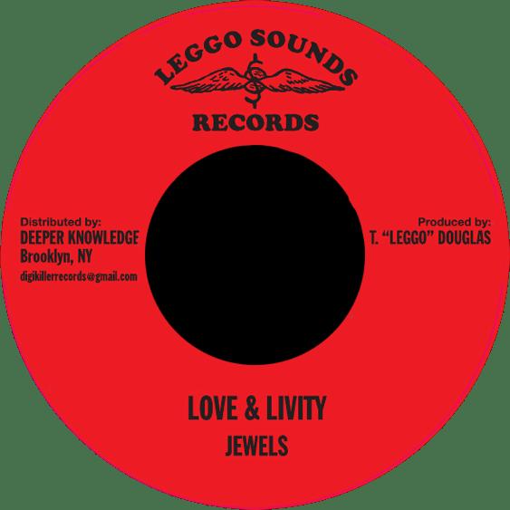 "Image of Jewels - Love & Livity 7"" (Leggo Sounds)"