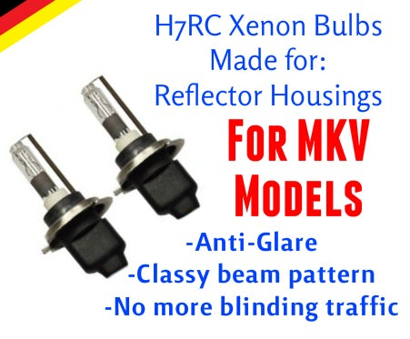 Image of H7rc Xenon HID Kit fits: Volkswagen MKV GTI/Golf & MKV Jetta