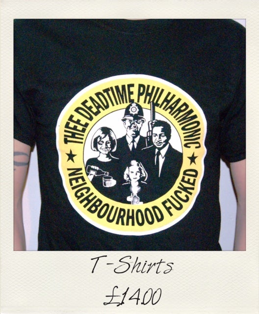 Image of Thee Deadtime Philharmonic T-shirt (black)