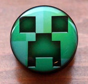 Image of Minecraft Video Game Logo Flesh Plug