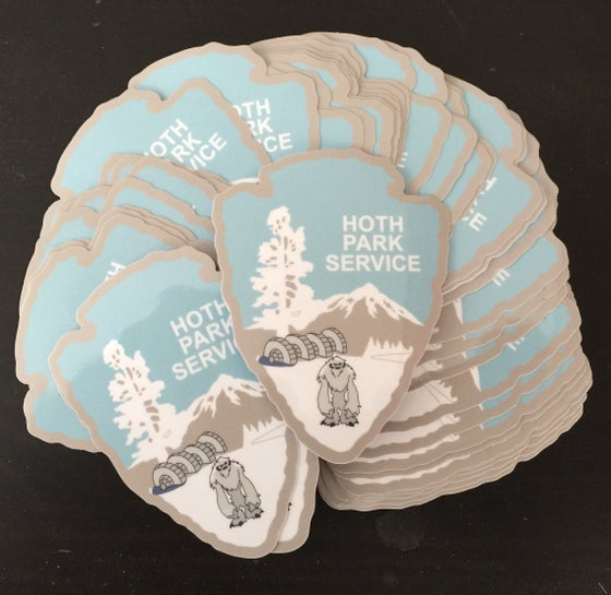 Image of Hoth Park Service Series #2 Sticker