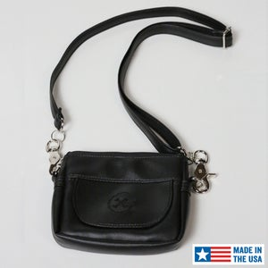 Image of NEW! Hipster Bag (Black Icon) » Converts to Cross-Shoulder Bag MFG# 590021
