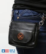 Image of NEW! Hipster Bag (Orange Icon) » Converts to Cross-Shoulder Bag BC#106013 SAVE 10%