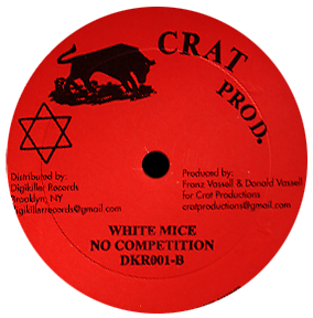 "Image of White Mice / Nitty Gritty - No Competition / One Auntie Lulu 12"" (Crat Productions)"