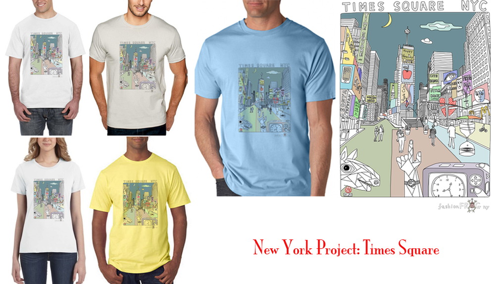 Image of New York Project - times square